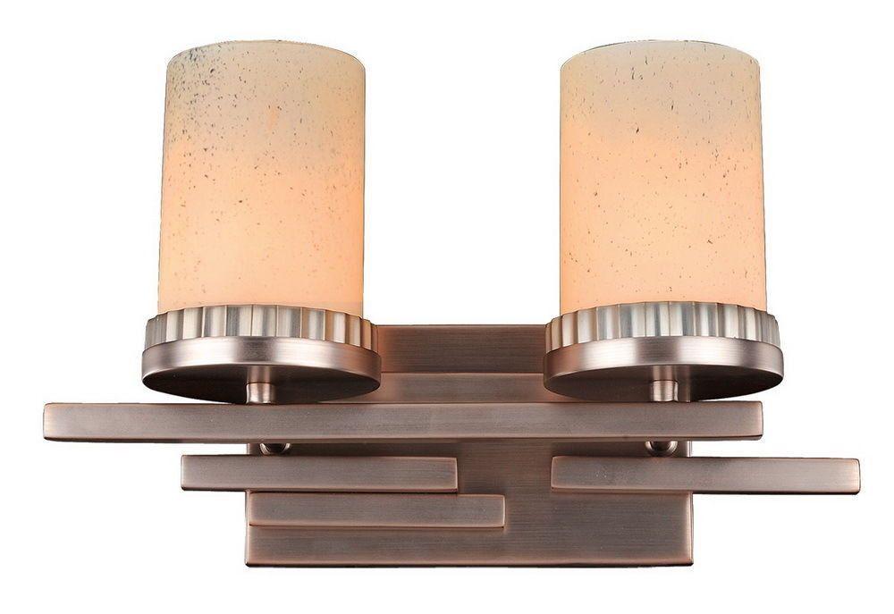 Kalco Lighting 2872BR Brandon Collection Two Light Bath ... on Bathroom Sconce Lights Brushed Bronze id=34286