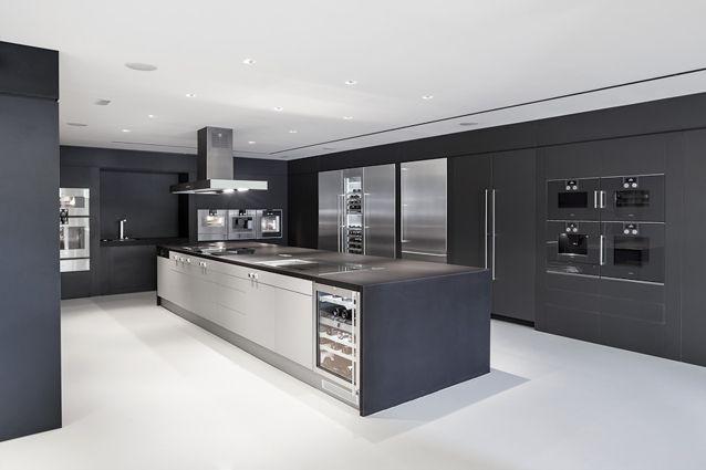 Gaggenau Showroom Barcelona Spain Kitchen Decor Modern Gaggenau Kitchen Design