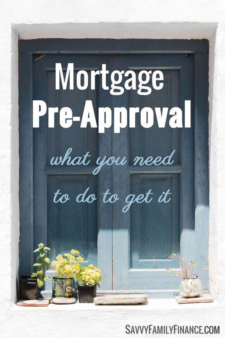 mortgage pre