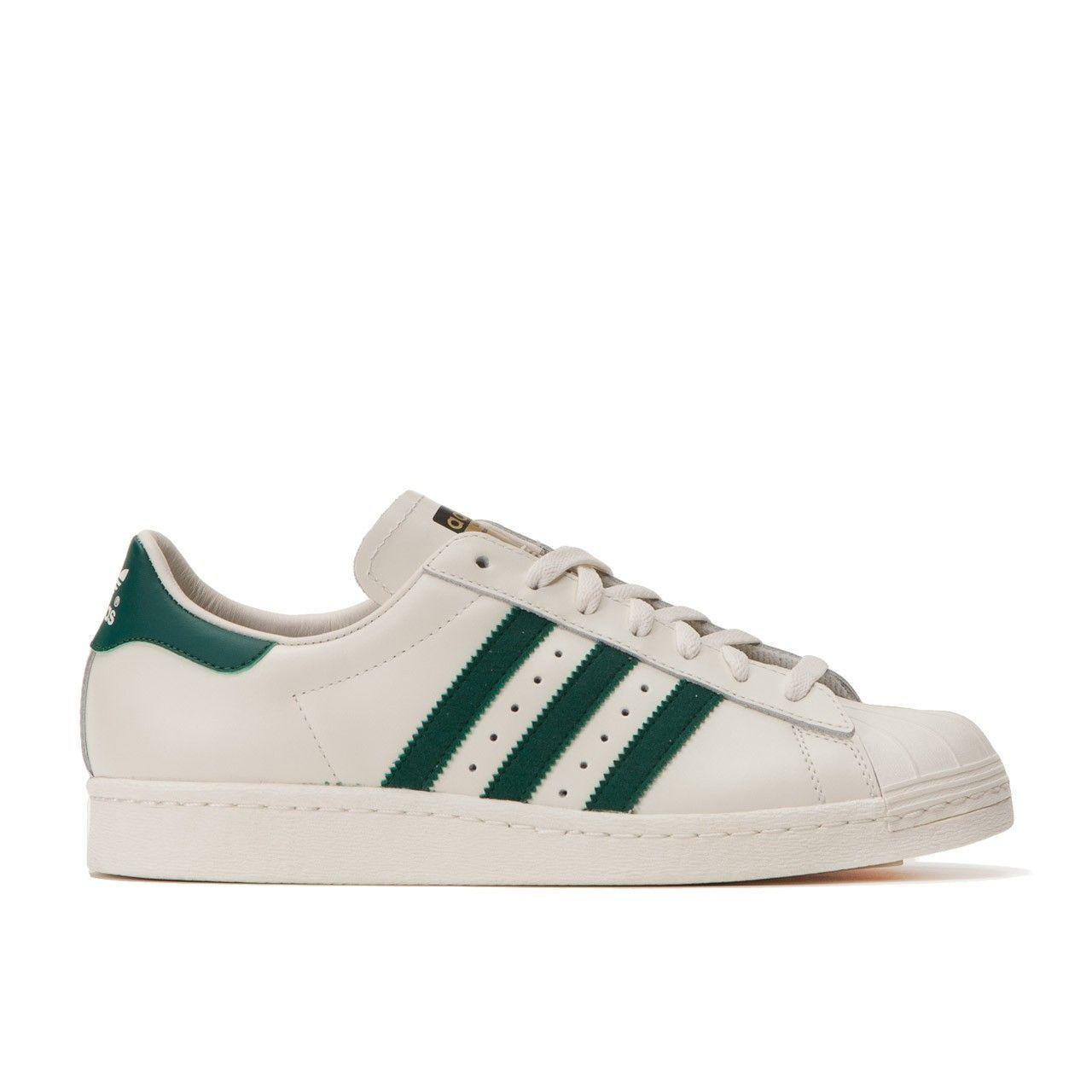 Adidas Superstar 80 S Dlx Weiss Grun Adidas Superstar Adidas Sneaker Marken