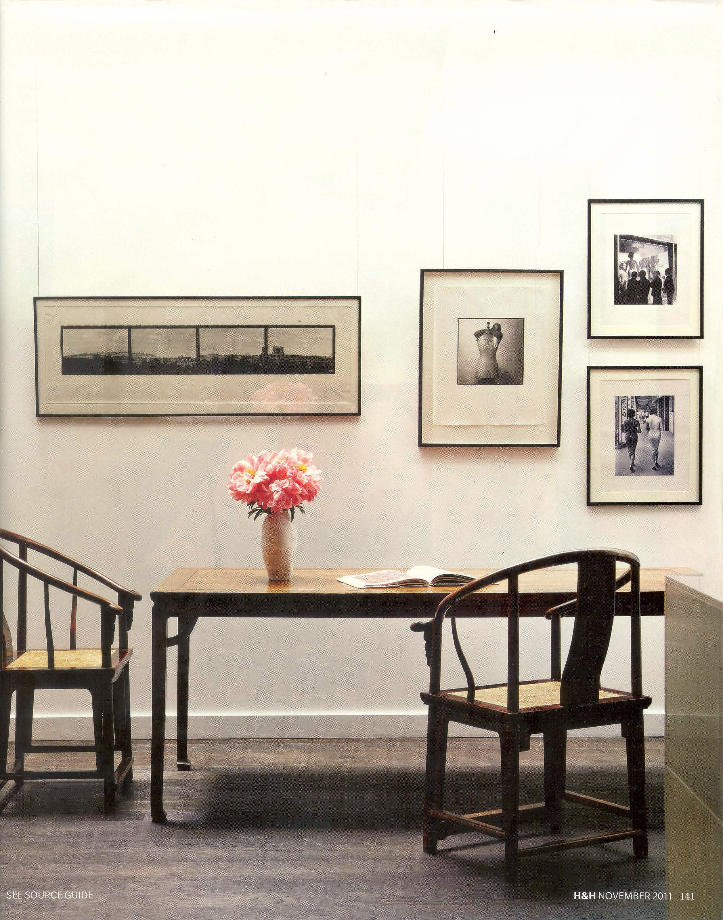 great photo layout chairs house home november 2011 rh pinterest com