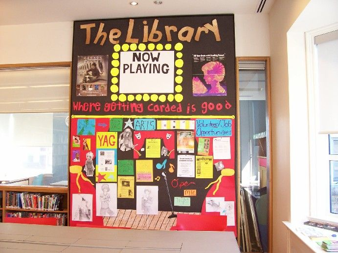 Teen bulletin boards