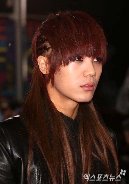 10 Male K Pop Idols You Forgot Had Long Hair Koreaboo Long Hair Styles Long Hair Styles Men Hair