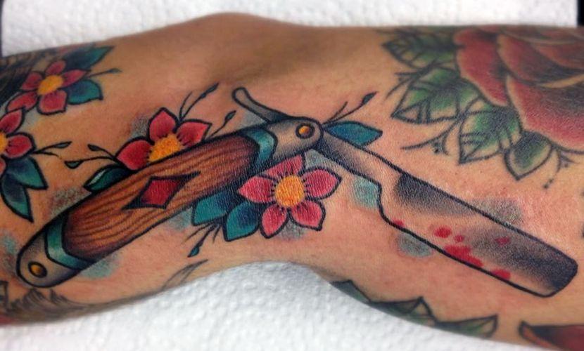 Tatuajes De Navajas De Afeitar Y Su Significado Tattoos E