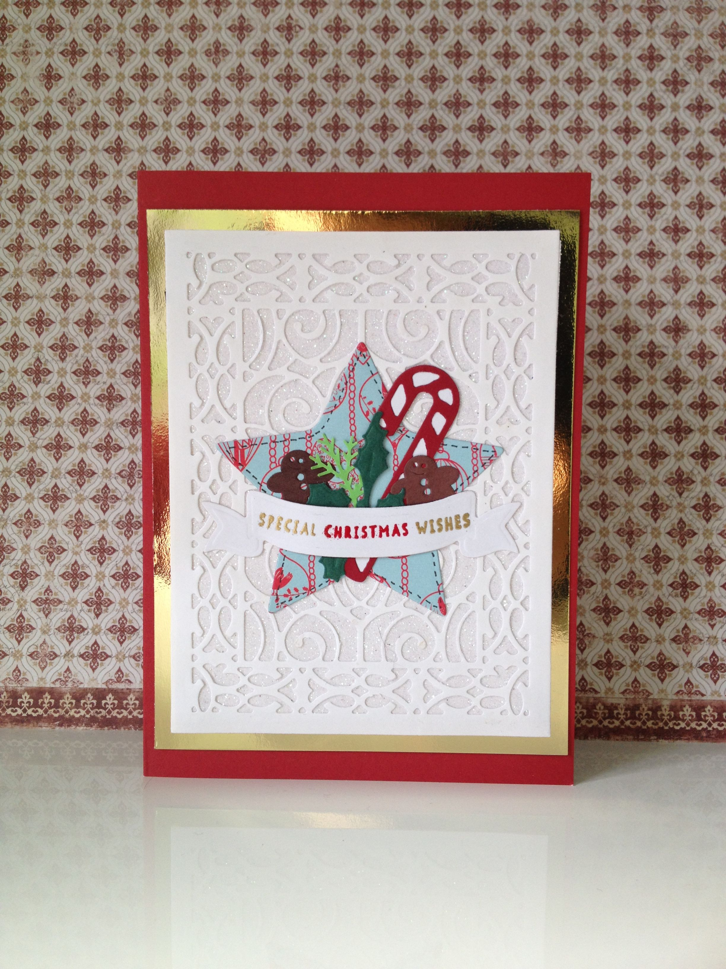 a little Christmas card I made last year. Made by Paper Alley. www.paperalley.co.uk
