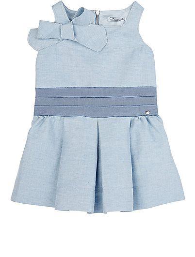 Mimisol Twill Sleeveless Dress