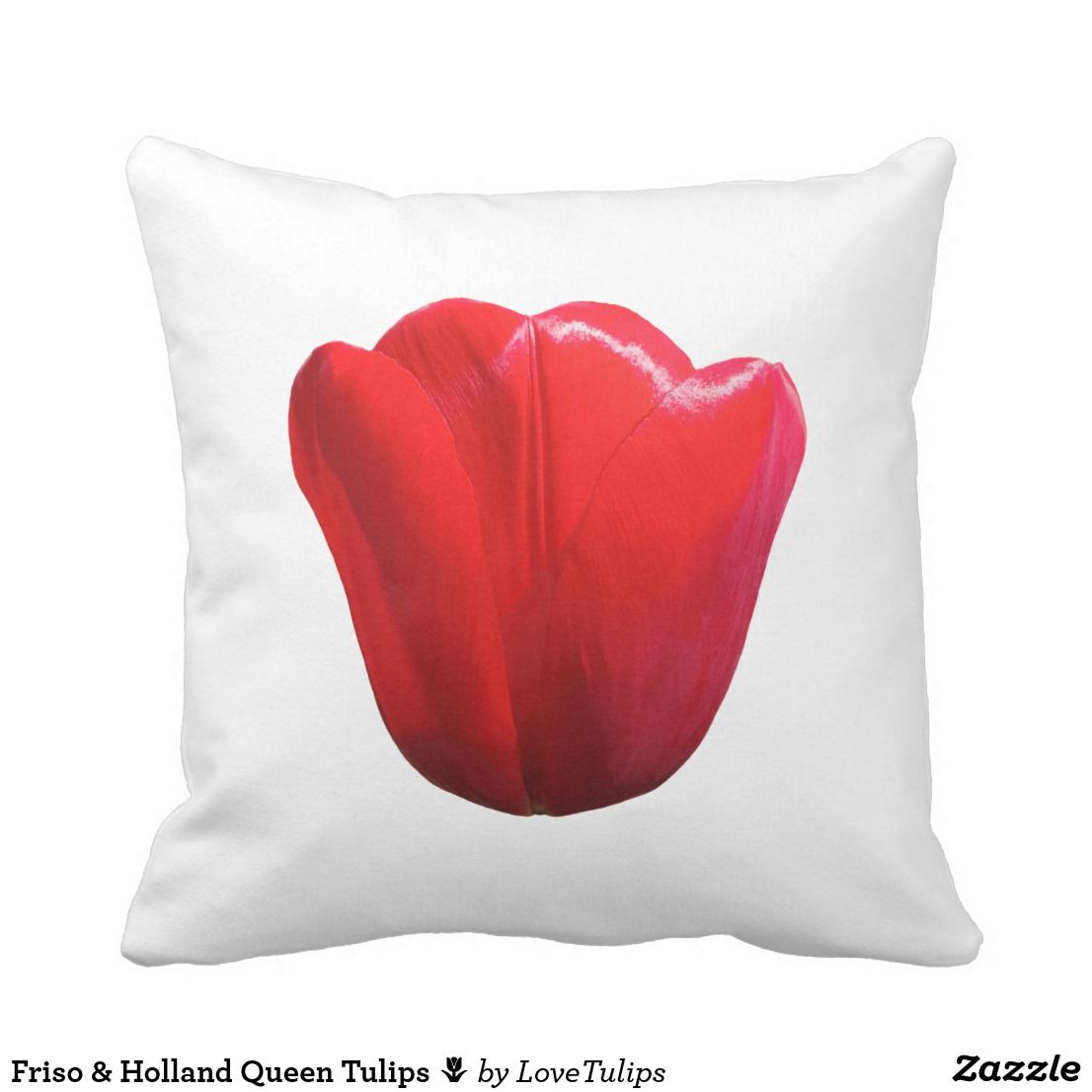 Friso Holland Queen Tulips Tulip Pillow Pillows Throw Pillows