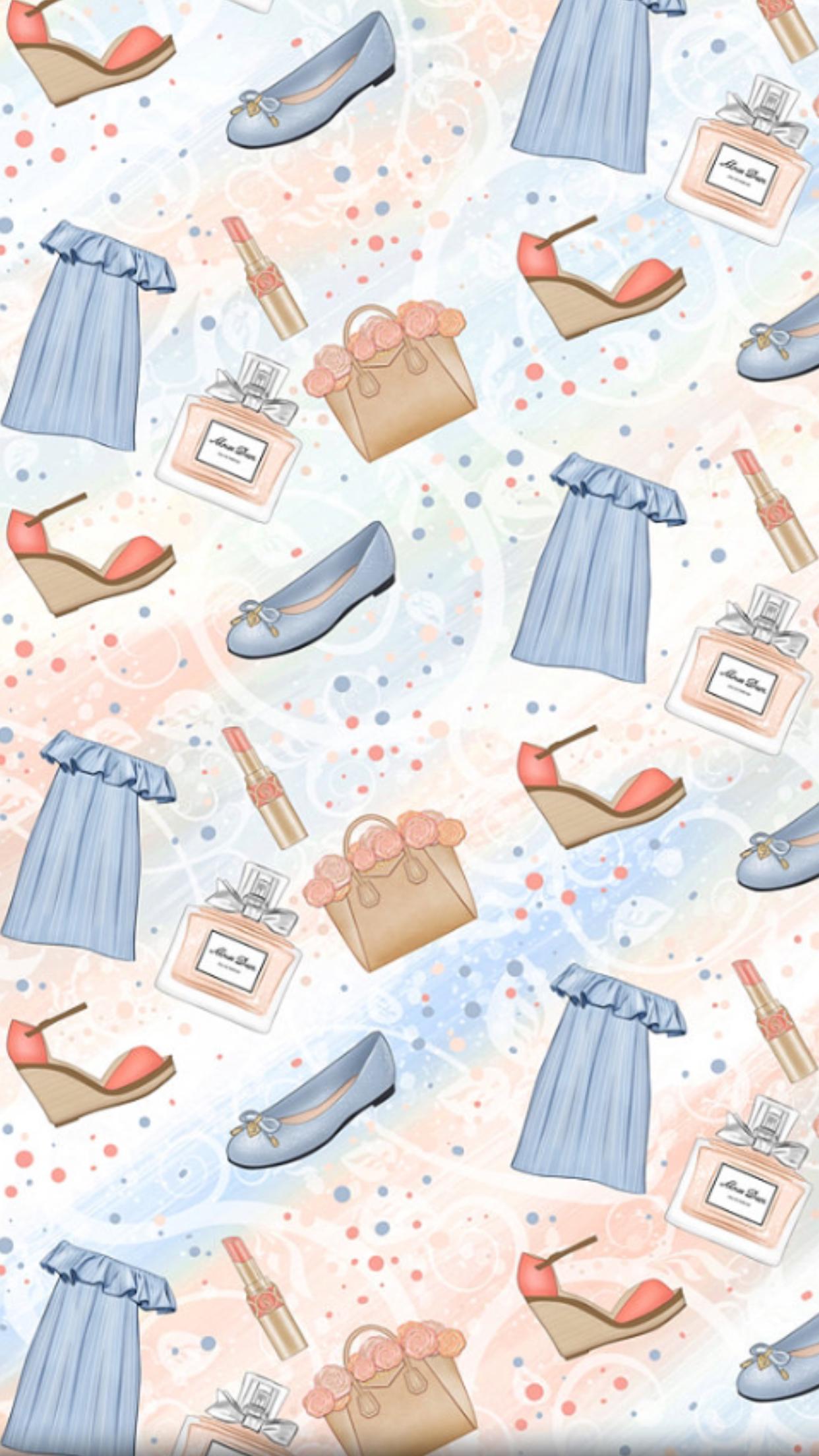 iPhone Wall tjn GlitterFondos Flowery wallpaper