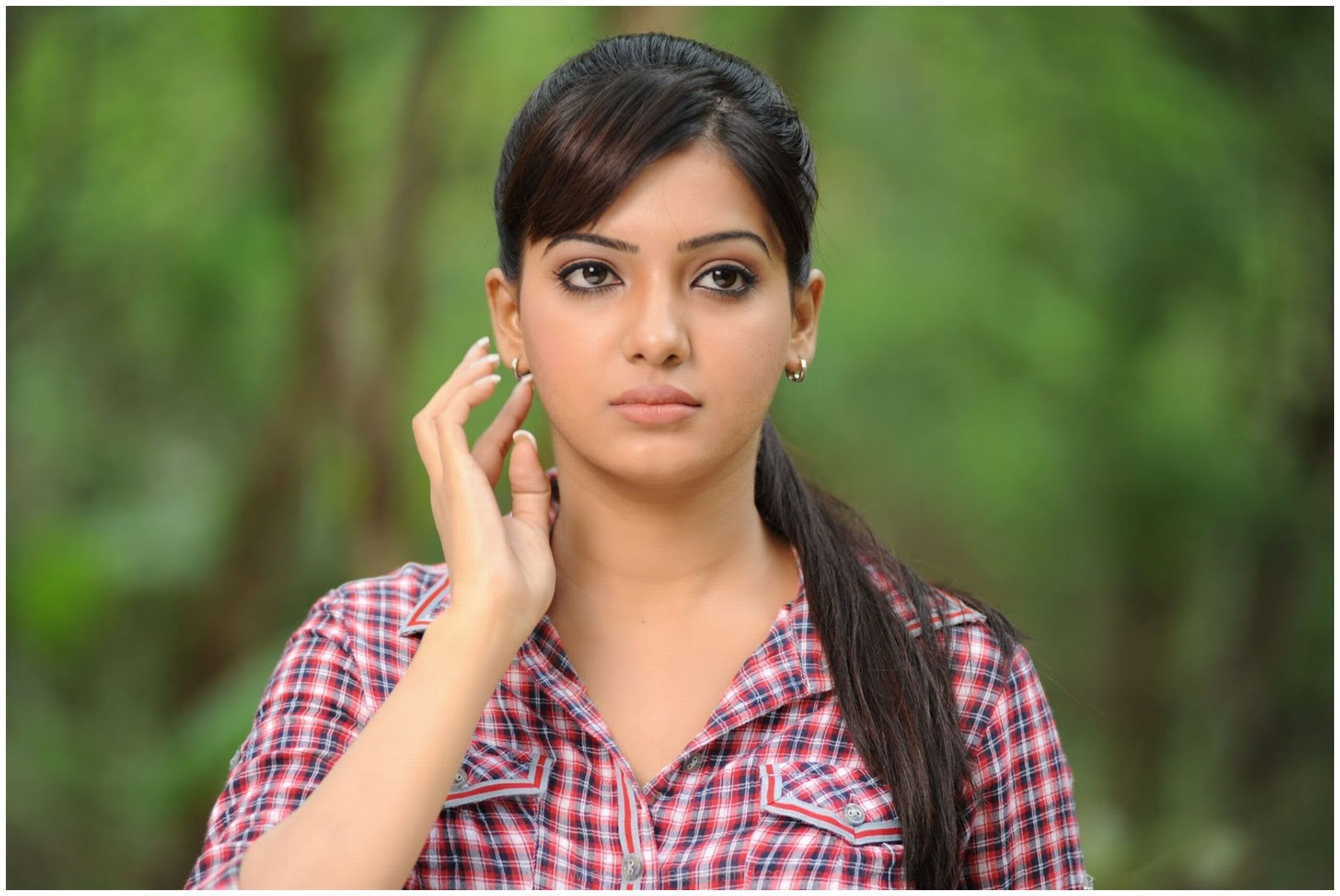 Samantha Ruth Prabhu South Indian Hairstyle Indian Hairstyles Bollywood Wallpaper