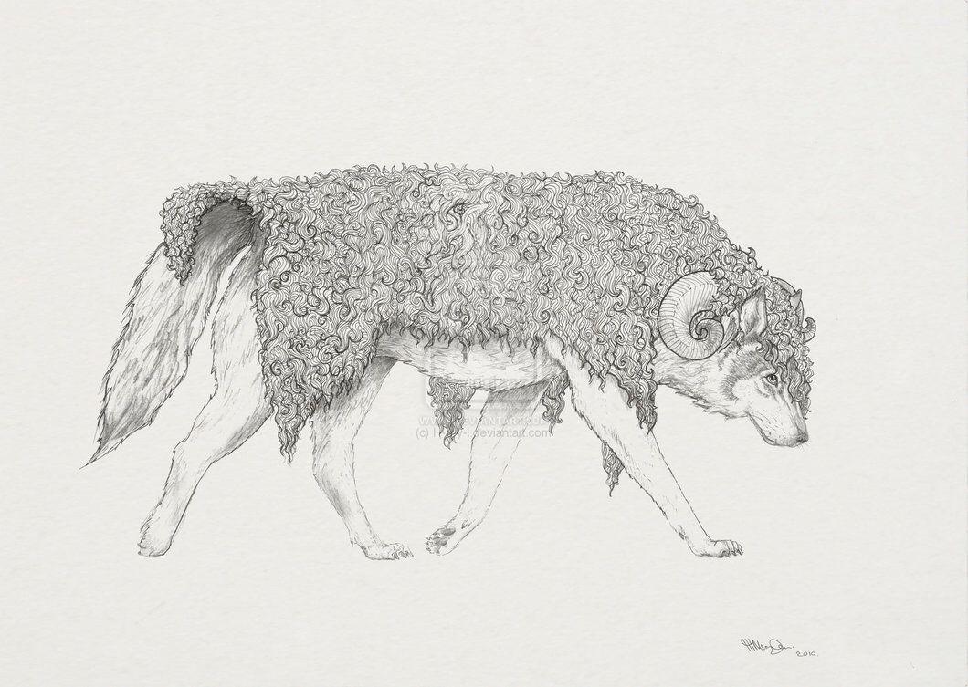 Анимационные фото волка с цветком проекты