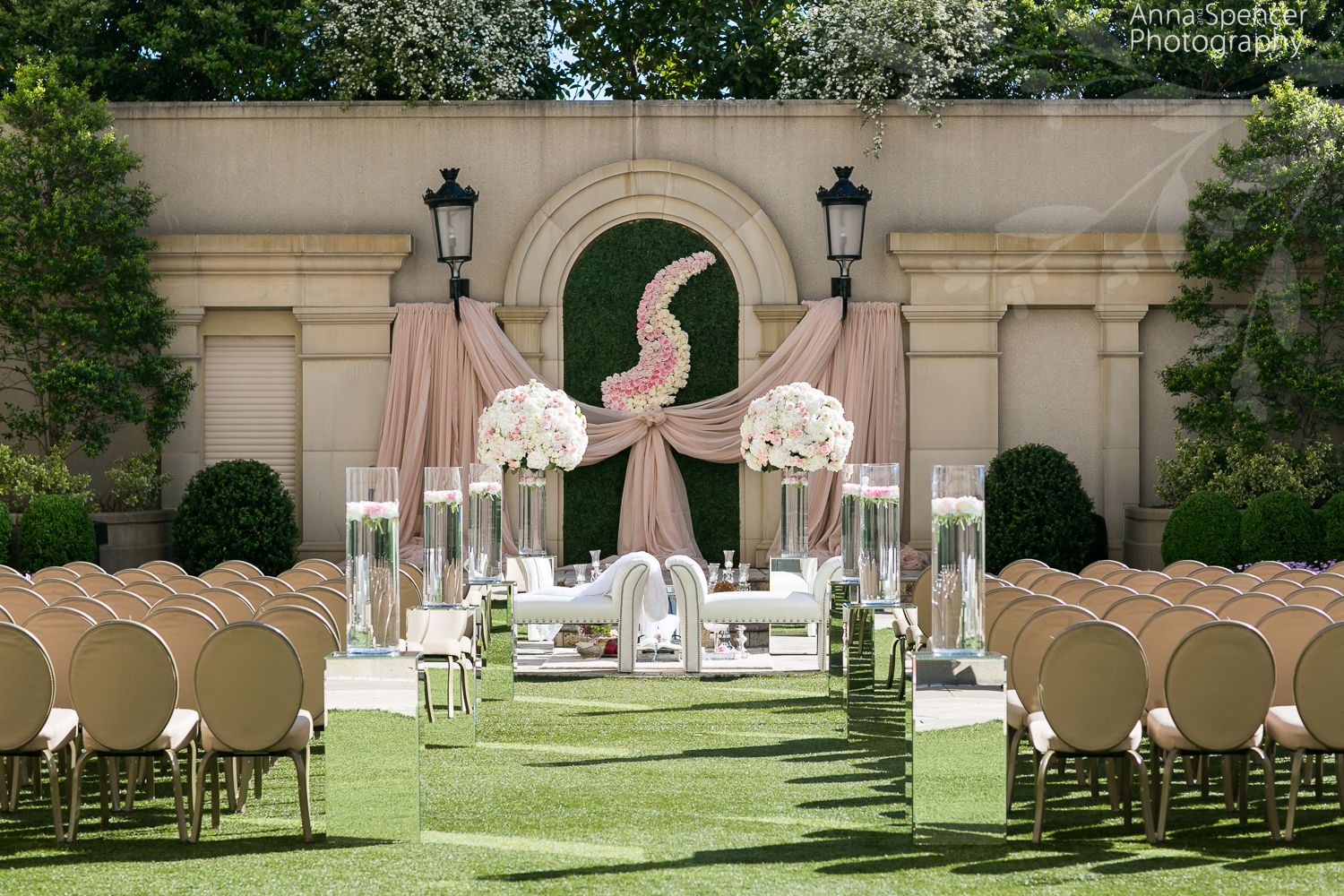 intimate wedding packages atlantga%0A Persian wedding ceremony on the Grand Terrace at the Atlanta St  Regis in  Buckhead
