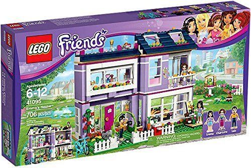 NEW LEGO Friends Emma's House toys TOY FOR GIRLS FREE SHIPPING ...