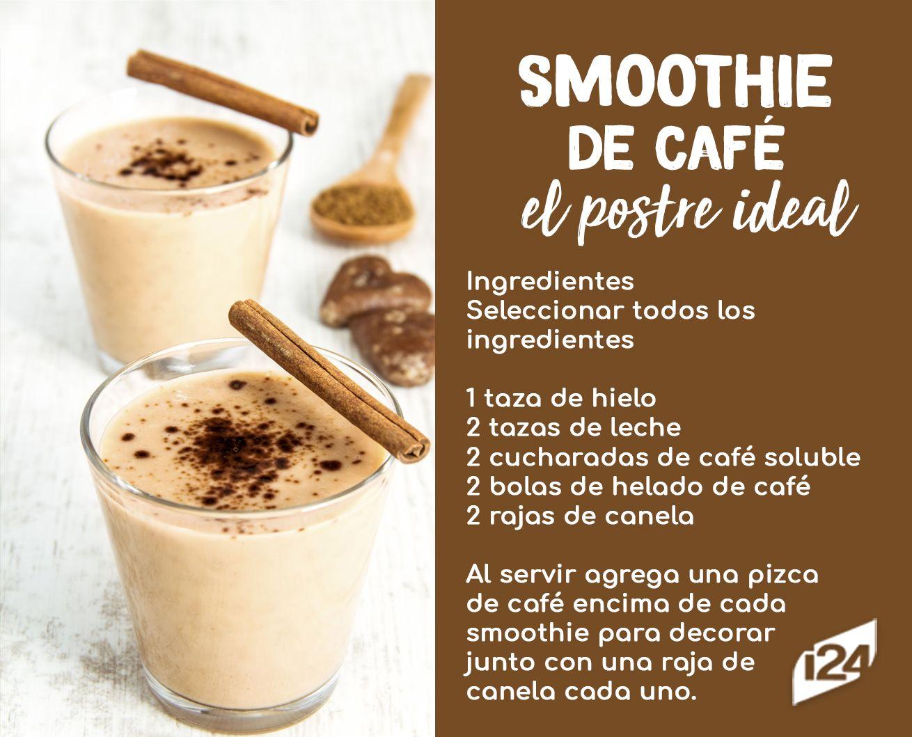 Repotencia tus mañanas con este smoothie de café y banana ¡lleno de proteína!