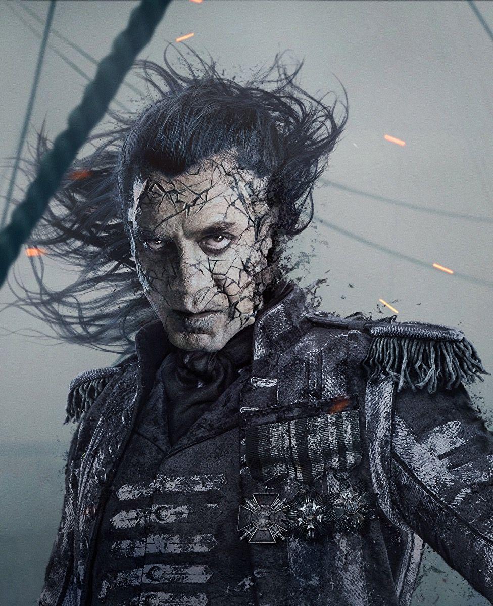 Salazar Piraty Karibskogo Morya Piraty Estetika