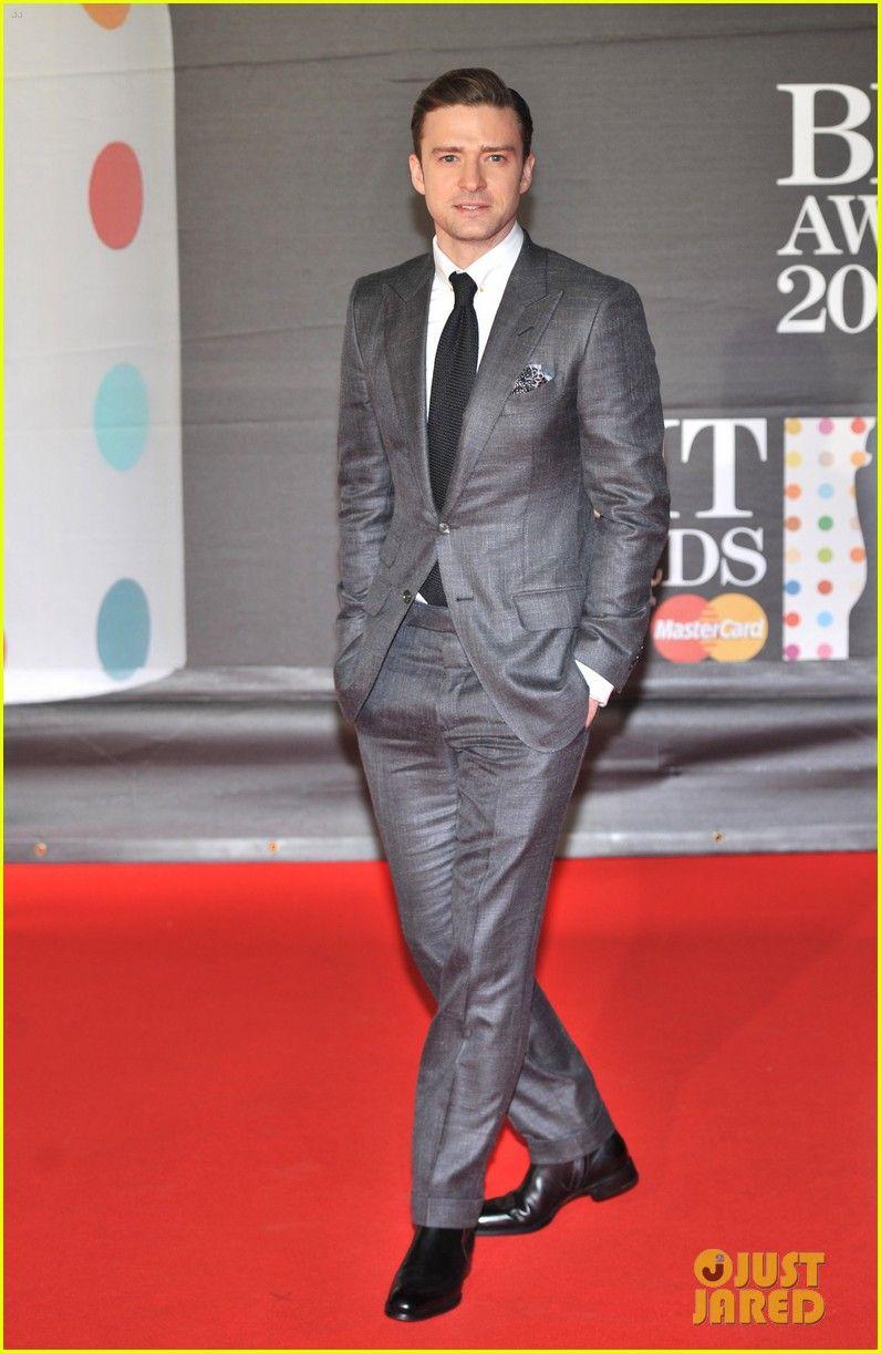 Groom! Justin Timberlake - BRIT Awards 2013 Red Carpet