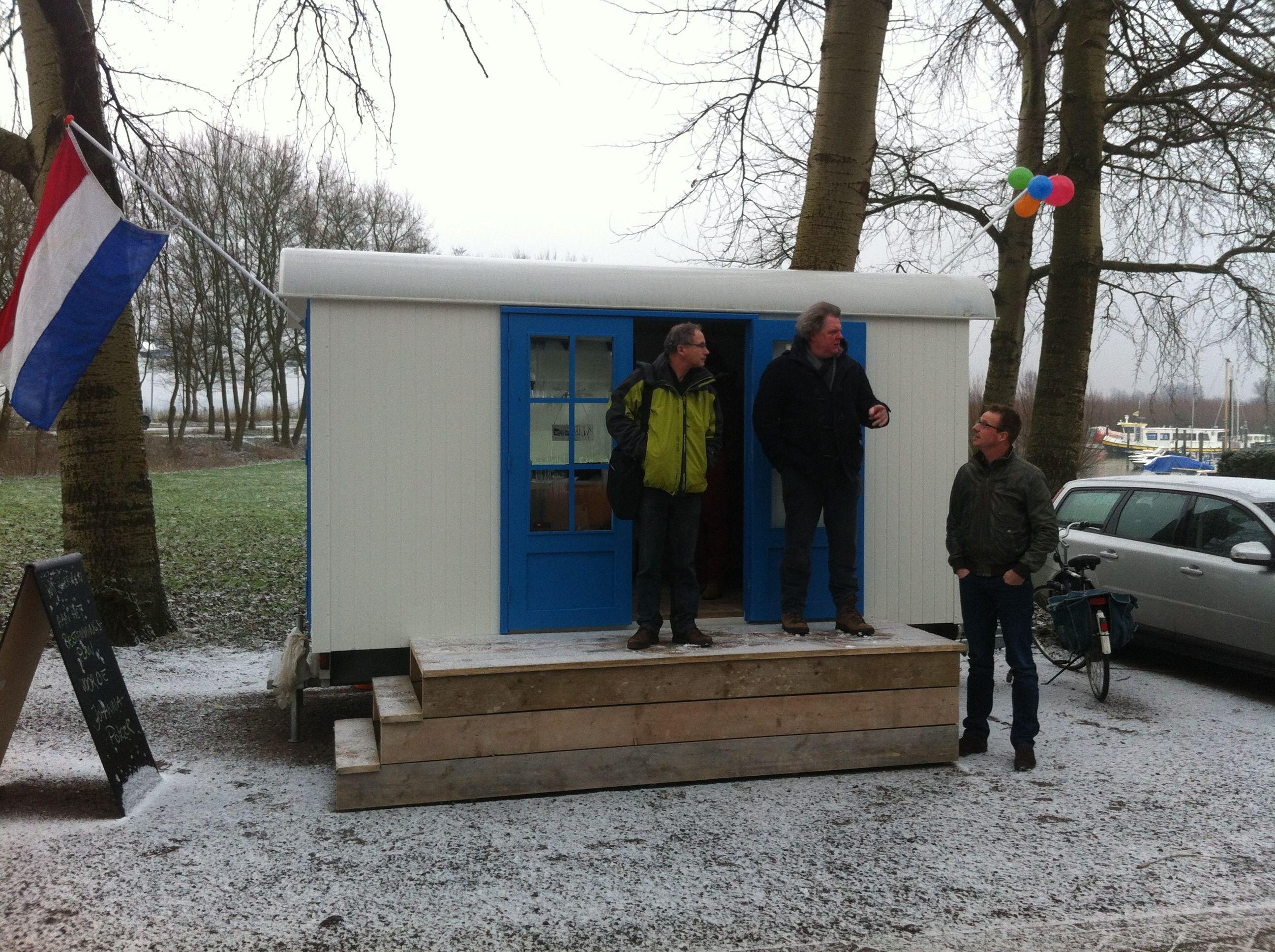 Schetssessie in HKBouwKeet in de Johannapolder