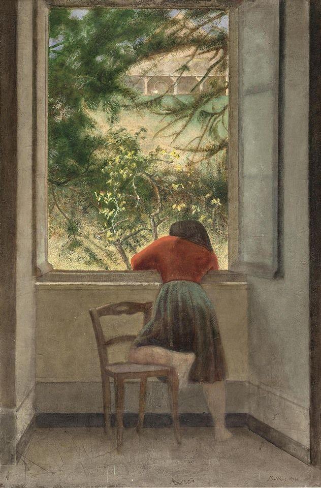 Resultado de imagen para balthus retrato de Niña en la ventana