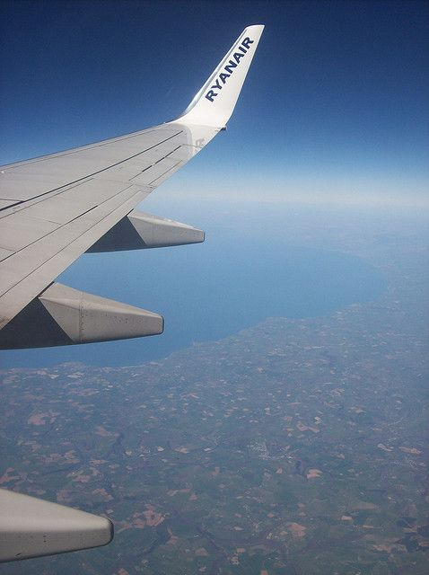 Flying home over the west of England :)