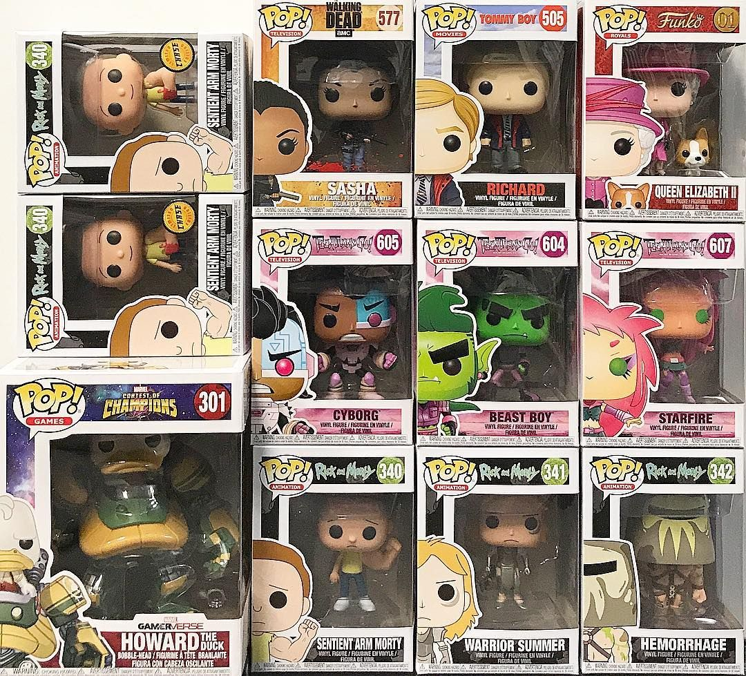 In stock newly released pop characters now available in