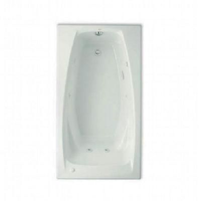 american standard everclean 5 ft whirlpool tub with reversible drain in white model 2732lc - American Standard Tubs