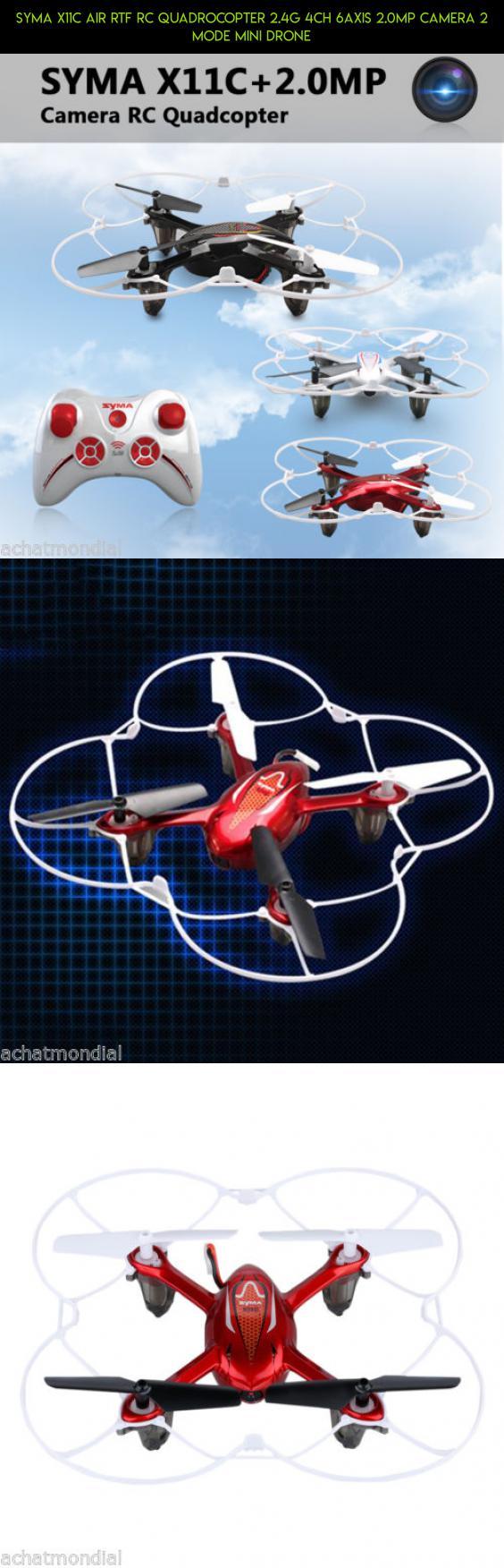 Syma X11c Air Rtf Rc Quadrocopter 24g 4ch 6axis 20mp Camera 2 Mode Quadcopter X8c Venture 24ghz With Mp Full Hd White Mini