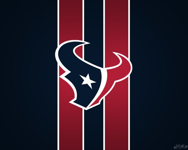 Houston texans Striped Wallpaper Man cave material right here!