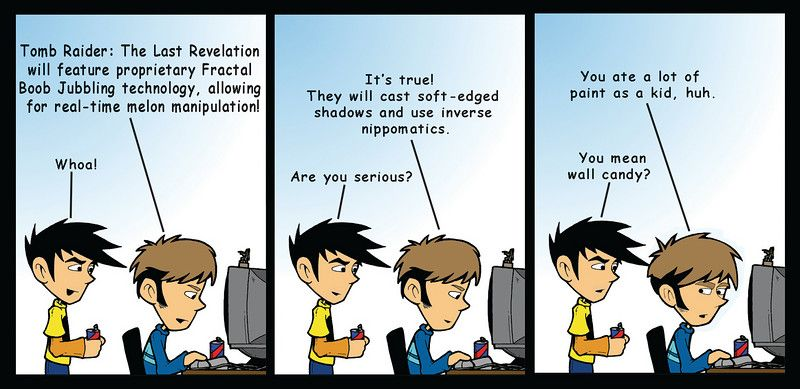You Mean Wall Candy Hilarity Pinterest Penny Arcade