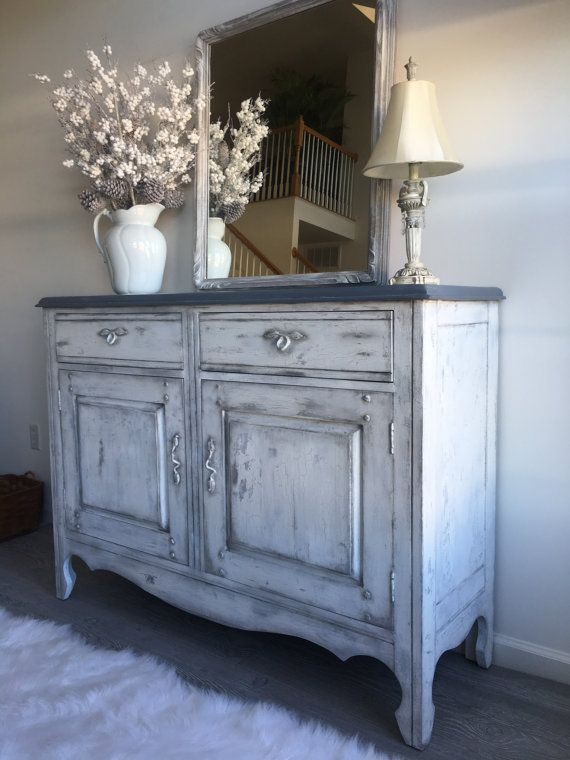 This Gorgeous, Sturdy, And Functional Buffet/cabinet Can Be Used In Any  Room Of The House. It Is Painted With Non Toxic Annie Sloan Chalk Paint In  Paris ...