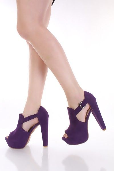 1000  images about Purple Shoes on Pinterest | Purple wedges, The ...