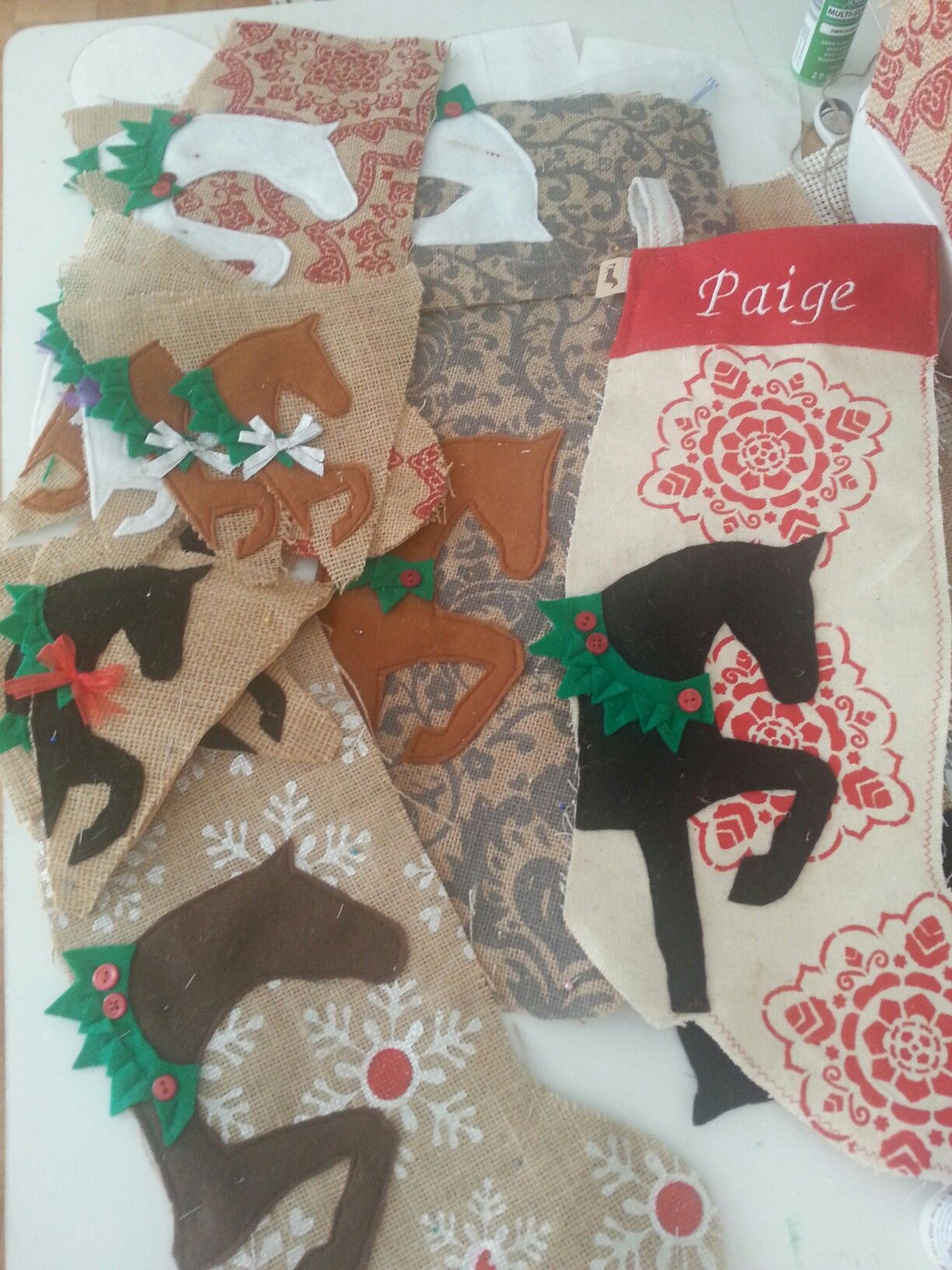 Equestrian Collection Home Christmas decorations
