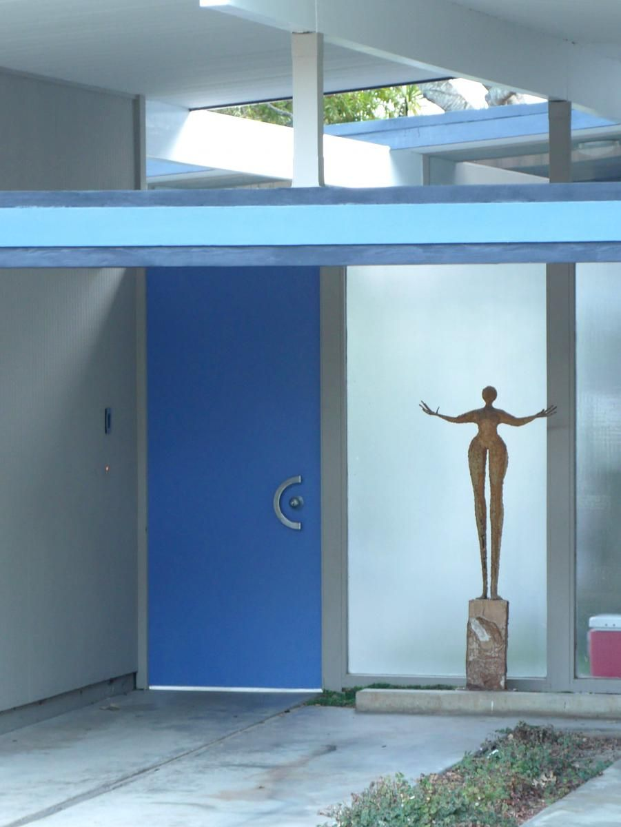 He captured a series of photographs of #Eichler #front #door entryways. Read about his project. | EichlerNetwork.com & He captured a series of photographs of #Eichler #front #door ...
