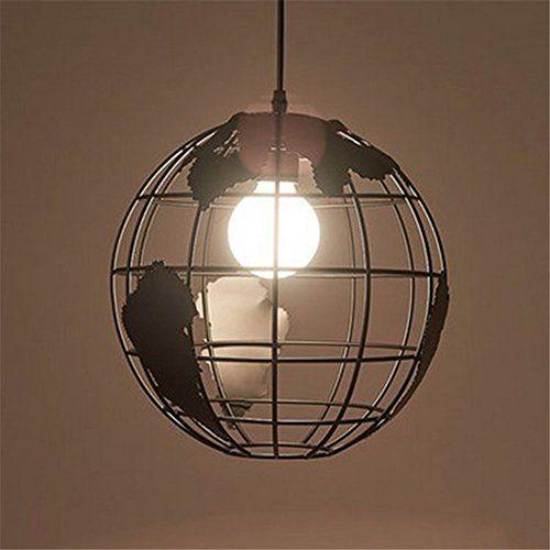 Modern creative world map globe hanging lamp ceiling pend https modern creative world map globe hanging lamp ceiling pend https gumiabroncs Gallery