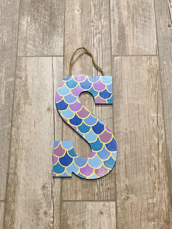 Wall Decors Robin Wooden Letters Wooden Thing