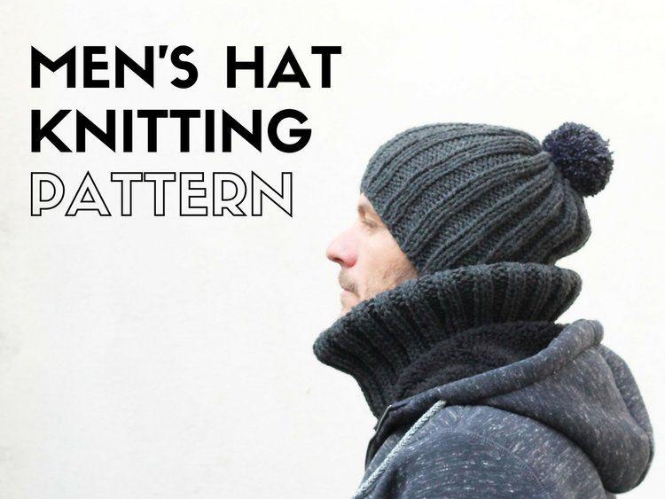 Free Men\'s Hat Knitting Pattern | Crochet/ Knitting | Pinterest ...