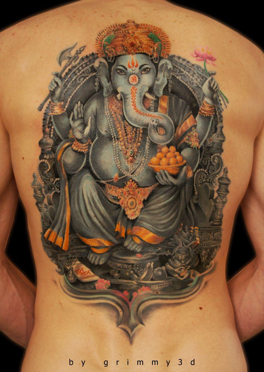 ganesha tattoo for men - 723×973