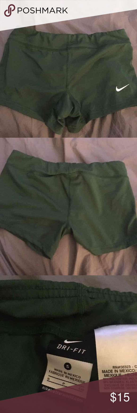 Forrest Green Nike Spandex Size Small. Worn once. Nike Other