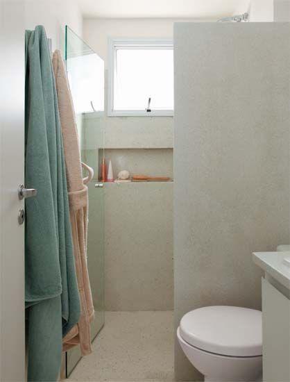 Nicho Bancada Banheiro : A marcenaria planejada ? grande sacada deste apartamento
