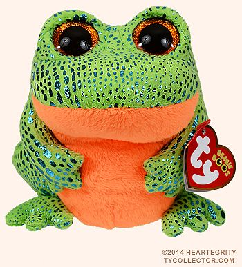 Speckles - frog - Ty Beanie Boos  4f839272a2d