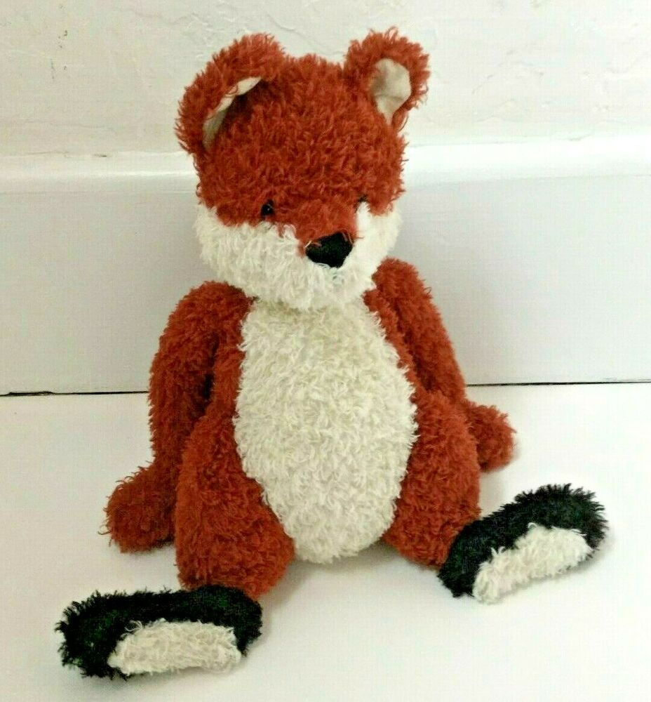 Details About Jellycat Bashful Fox Black Feet 12 Inches Plush Toy Jellycat Plush Toy Black Foot