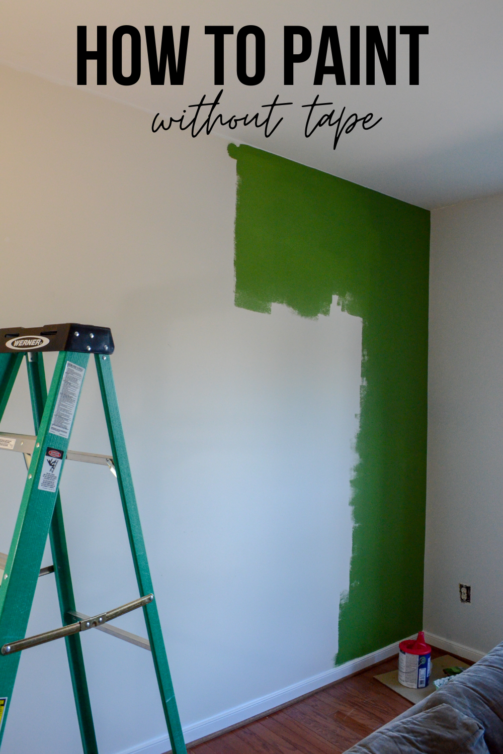 How To Paint Without Tape Painting Walls Tips Painting Room Tips Room Paint