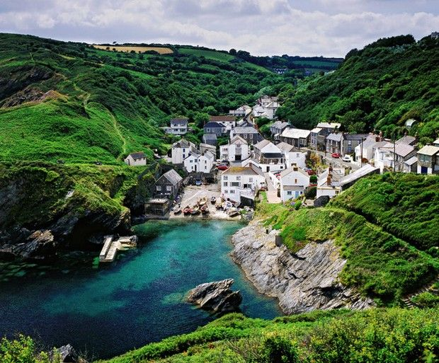 Portloe Cornwall Perhaps One Of The Most Beautiful Villages In The World Great Britain And