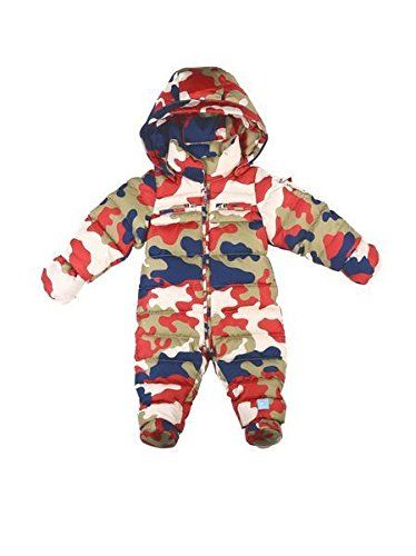 ec6fadf37 Oceankids Baby Girls Infant Down Jumpsuit One-Piece Camo Snowsuit ...