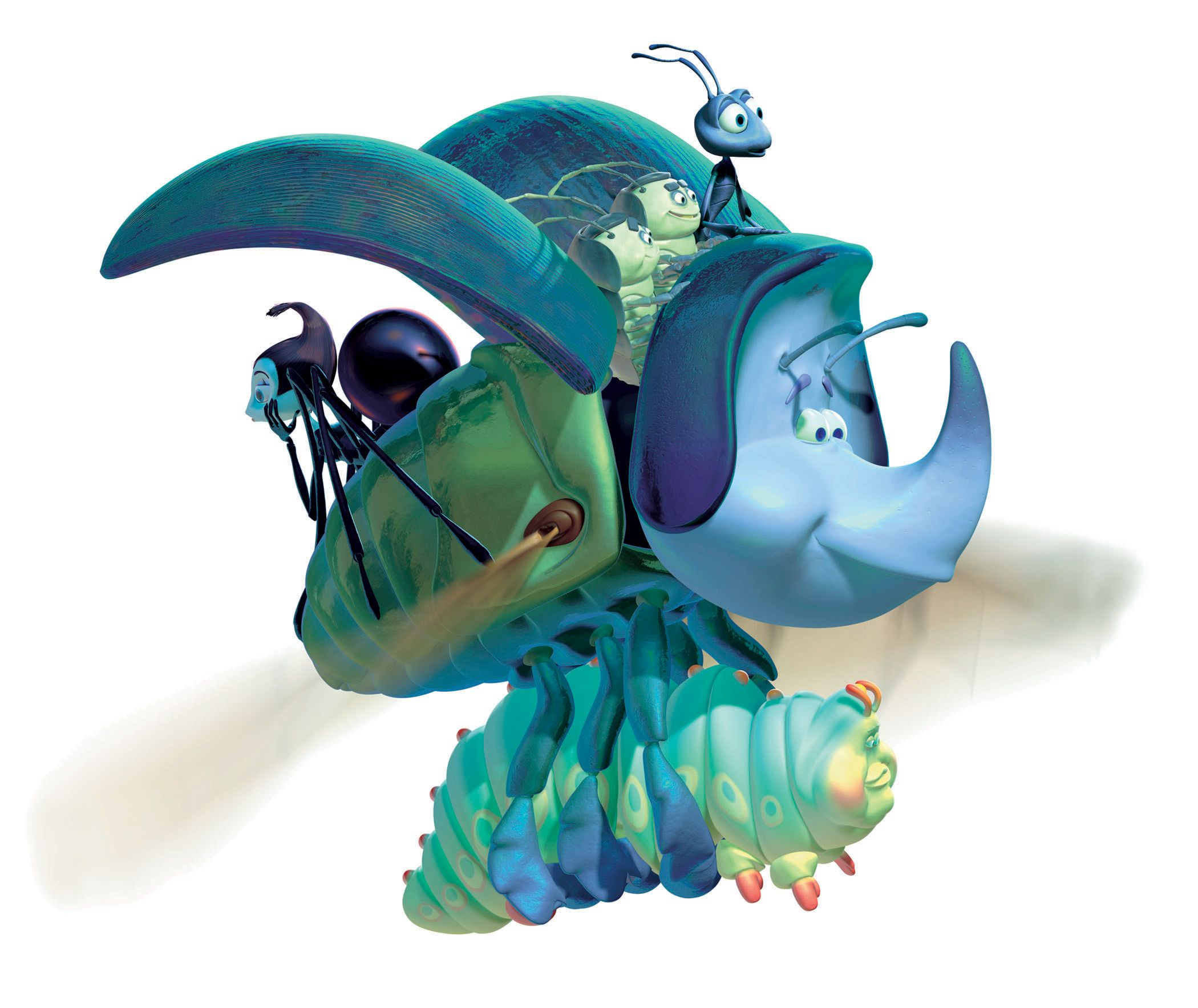 All The Main Characters In Bugs Life