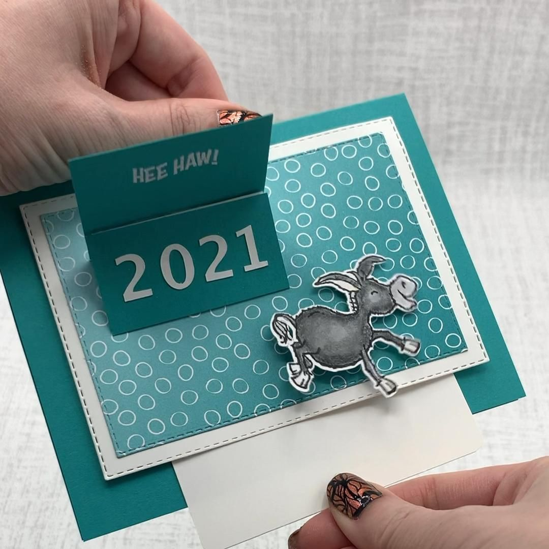 Stampin Up Darling Donkeys * made by Vy