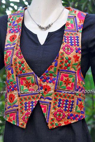 Designer Embroidered Jacket Embroidery Jackets Kurti Neck Designs Kurta Designs Women
