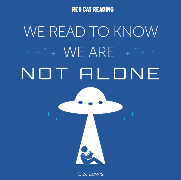 """Reading Quotes For Kids We Read To Know We Are Not Alone"""" C.slewis #reading #kids ."""