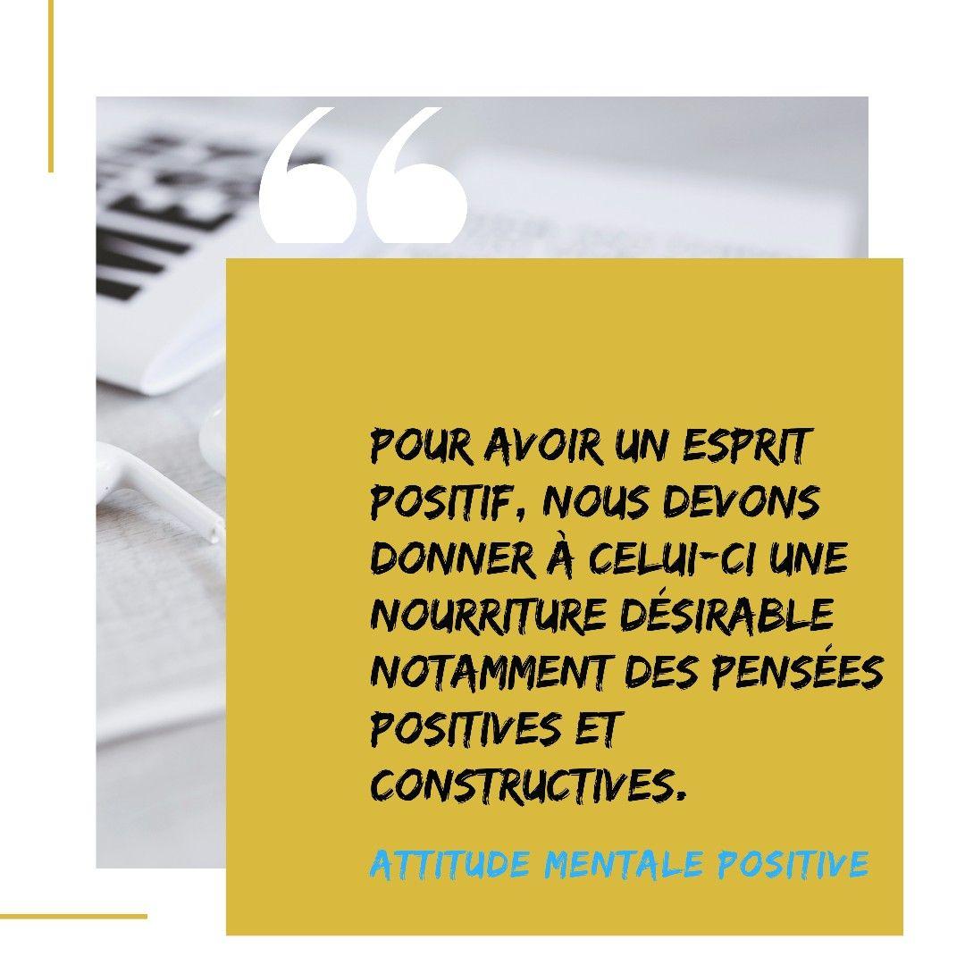 Attitude Mentale Positive