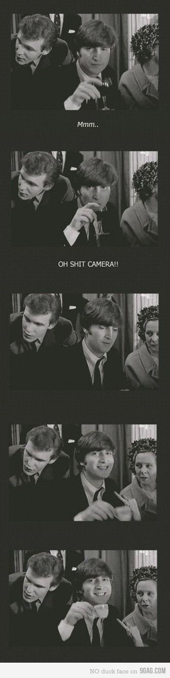 Just John Beatles funny, Beatles love, The beatles