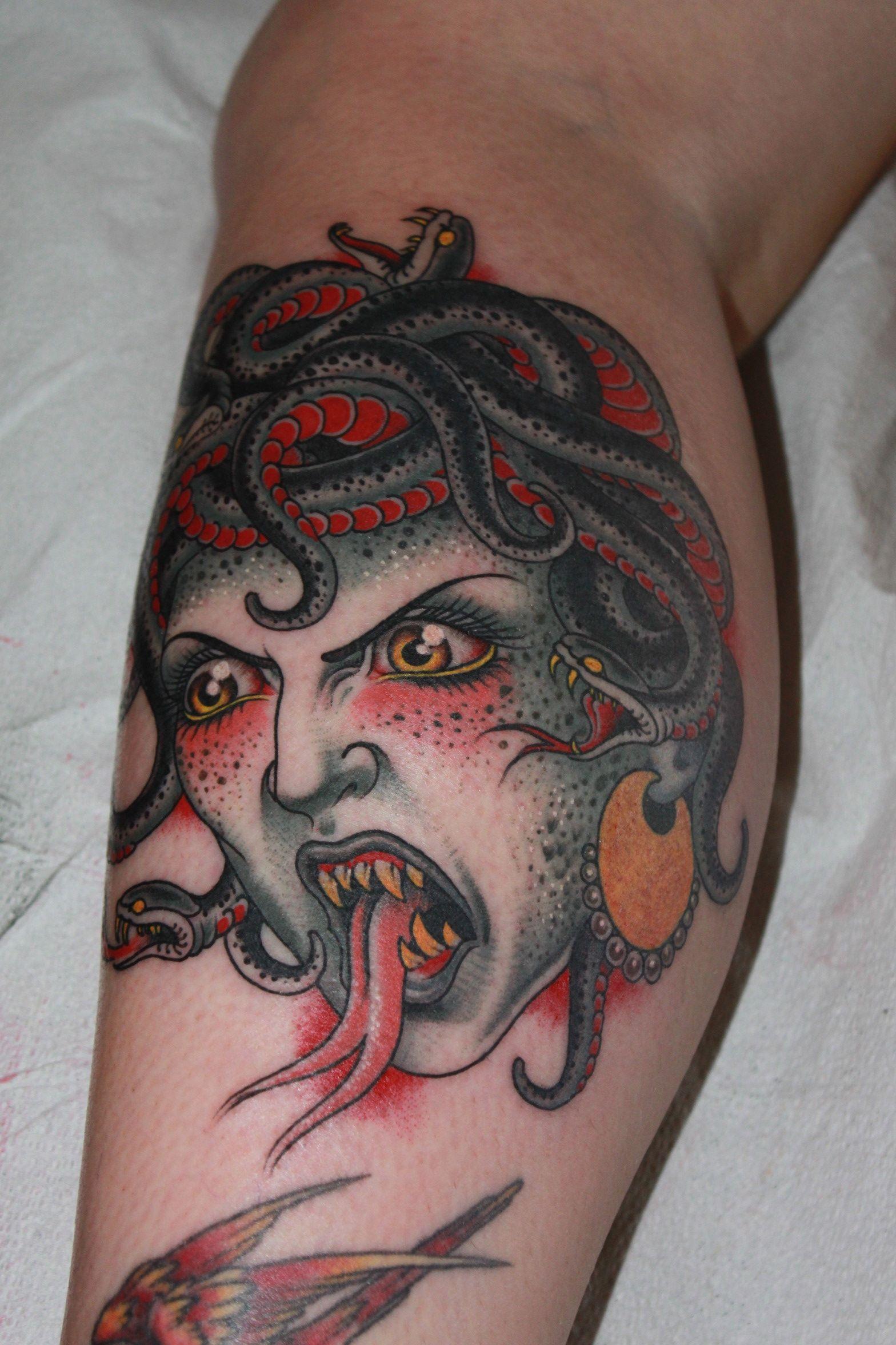 Valerie Vargas, Valerie vargas tattoo, medusa, medusa head, medusa ...