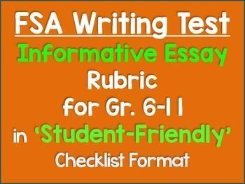 survey research proposal sample forklift operator skills resume      CCSS aligned Writing Rubric  Informative  Grades
